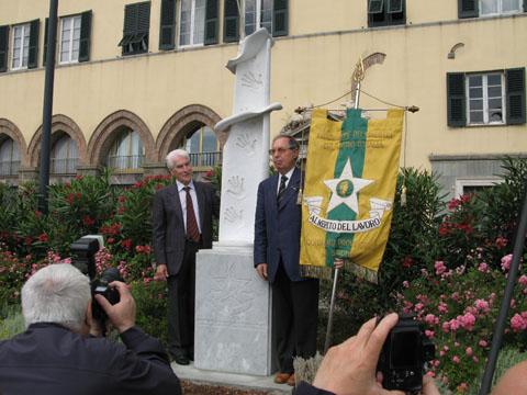 inaugurazione con Presidente associazione