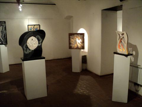 sculture in mostra