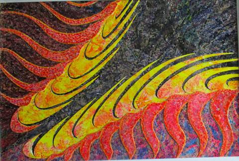 I miei quadri in tecnica mista