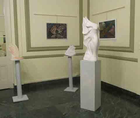 Mostra Personale alla sala esposizioni del Teatro del Casinò di Sanremo