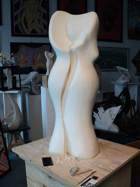 seconda scultura finita