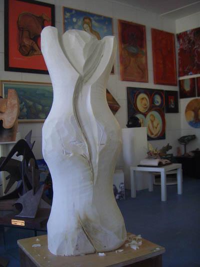 scultura di sapone