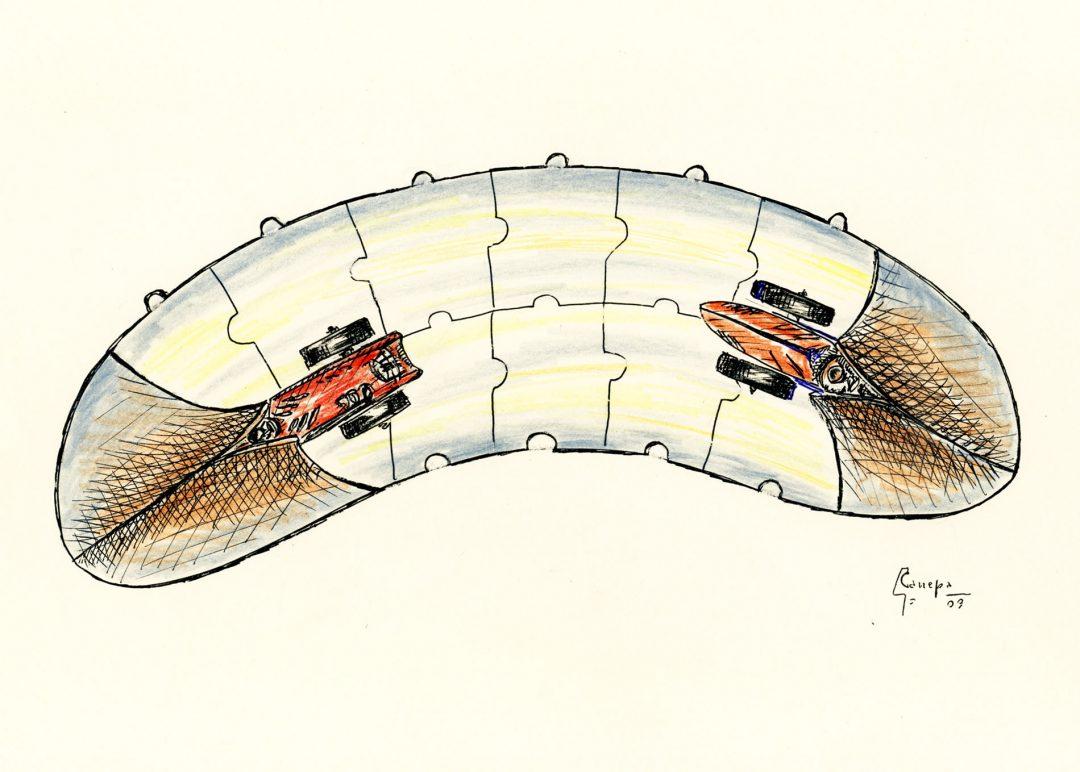 Pastello parabolica