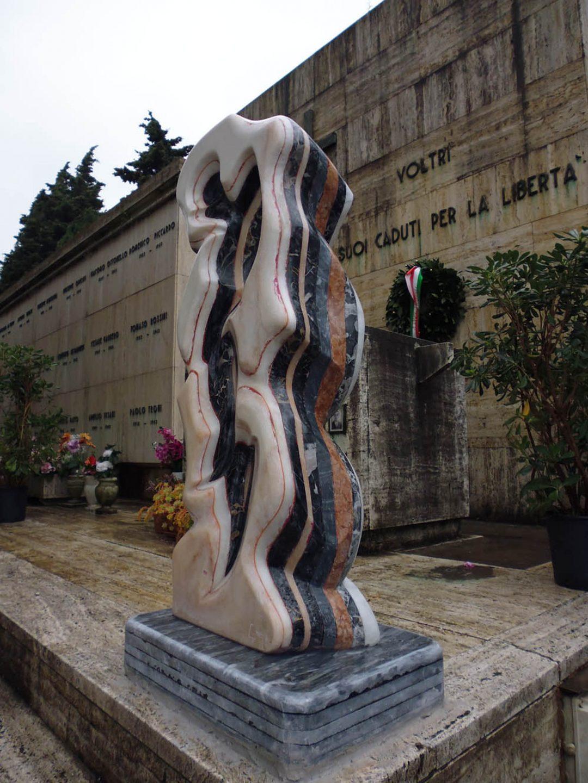Monumento per il 70° anniversario della Resistenza
