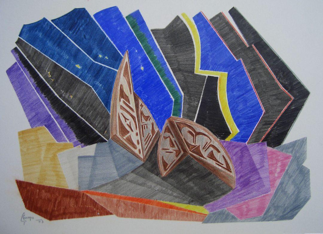 Pastello forme 2003
