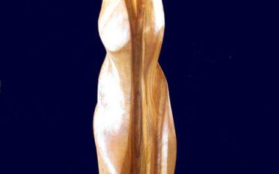 Ancora una scultura in legno di ulivo